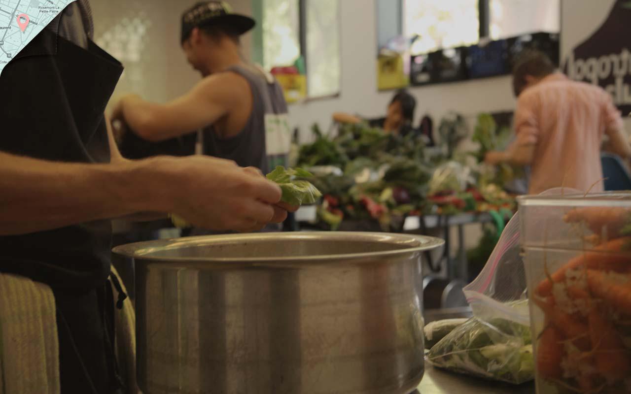 Image de fond du thème À la cuisine